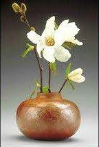 Vas Bunga Cantik Tembaga kuningan