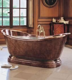 BATHTUB DARI KERAJINAN TEMBAGA KUNINGAN