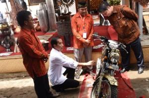 Kerajinan Kuningan Tumang, Jokowi Kunjungi Tumang Boyolali